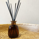 JEWEL DIFFUSER JAR ~ Amber