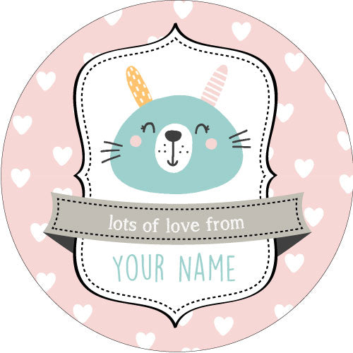 Animal Smiles Personalised Gifting Stickers