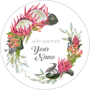 Black Sugar Personalised Gifting Stickers
