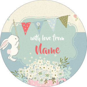 Bunnies Personalised Gifting Stickers