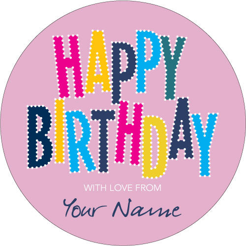 Candyland Personalised Gifting Stickers