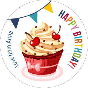 Cupcakes Gifting Stickers