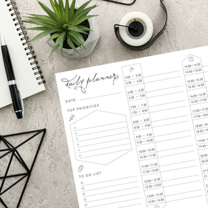 A4 Daily Planner ~ Free to print at home