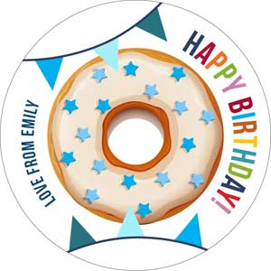 Donuts Personalised Gifting Stickers