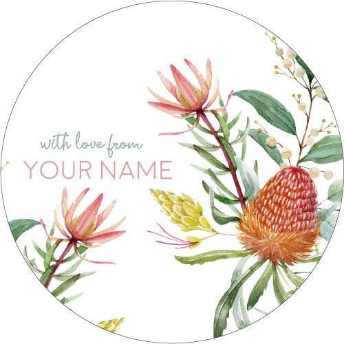 Eucalyptus Personalised Gifting Stickers