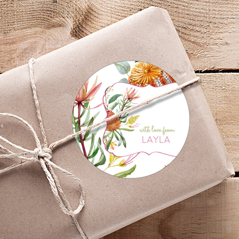 Eucalyptus Gifting Stickers