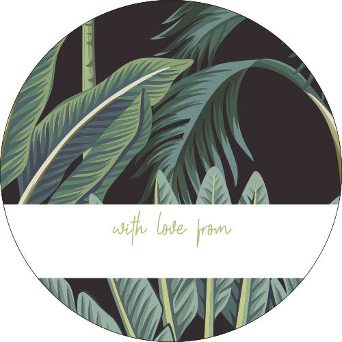 Fern Personalised Gifting Stickers
