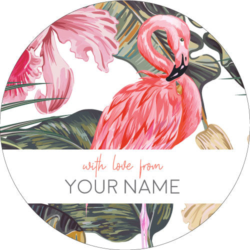 Flamingo Gifting Stickers