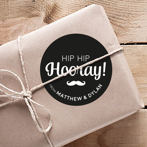Hip Hip Hooray Gifting Stickers