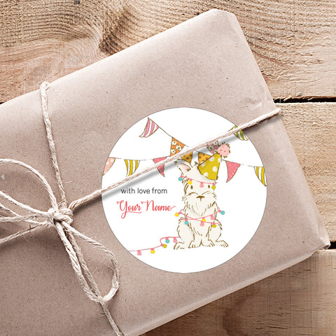 Little Bunting Gifting Stickers