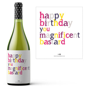 WINE LABELS ~ Birthday Collection