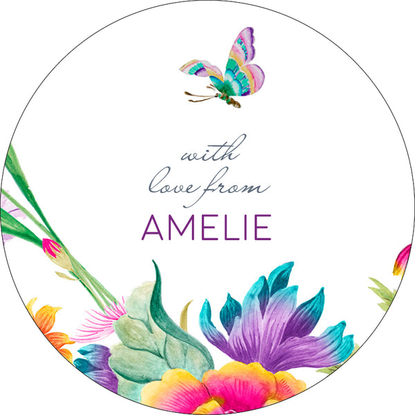 Meadow Personalised Gifting Stickers