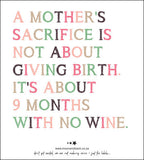 WINE LABELS ~ Mom Collection