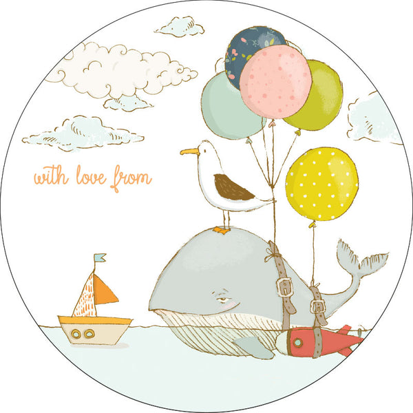 Oceanic Adventures Gifting Stickers