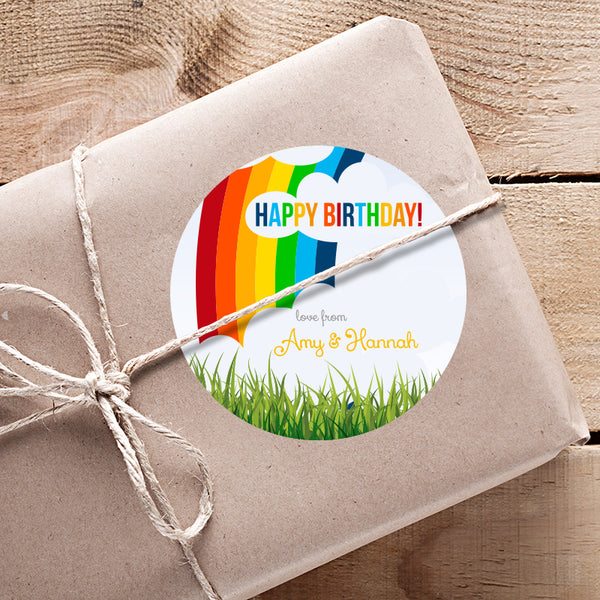 Rainbow Gifting Stickers