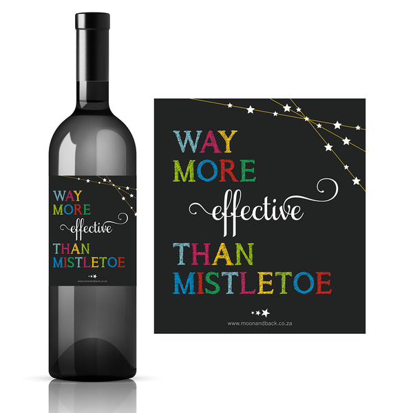 WINE LABELS ~ Christmas Edition