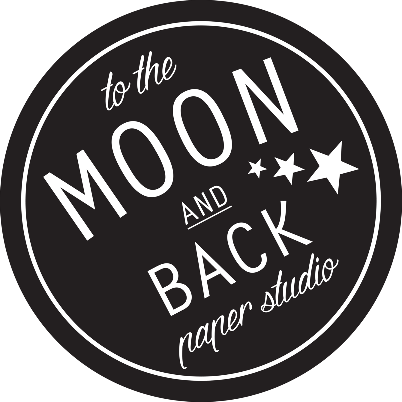 To the Moon & Back Paper & Laser Studio