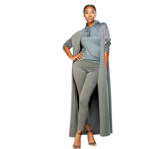 Kimberly Love Duster - Steel