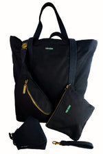 Load image into Gallery viewer, Black Tote (Large)