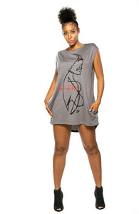 Be Still My Heart Tshirt Dress