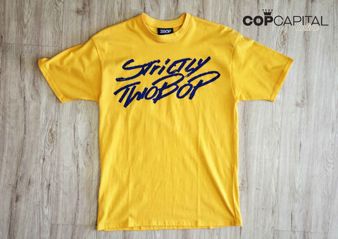 2Bop Strictly Tee Yellow