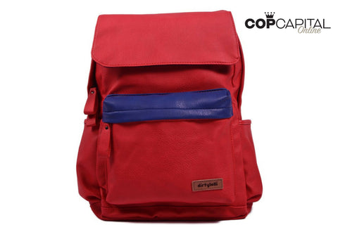 DirtyLolli - Italian Zaino Backpack - Red