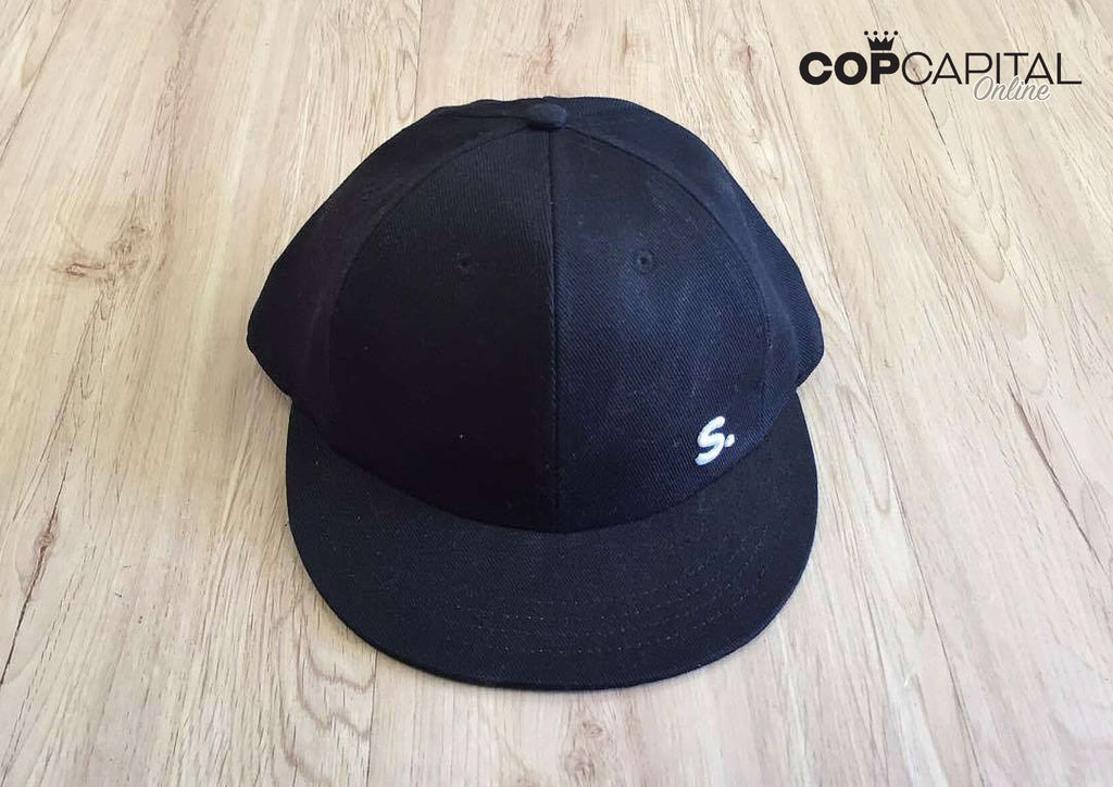 Streeks 6 Panel Cap - Black