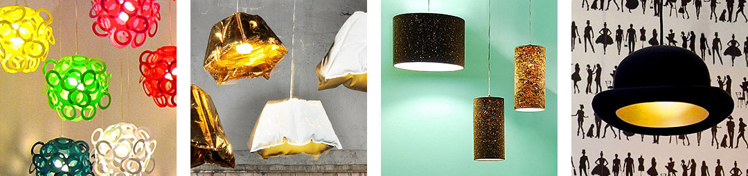 Funky Lamp Shades offers stylish and unique designer lampshades