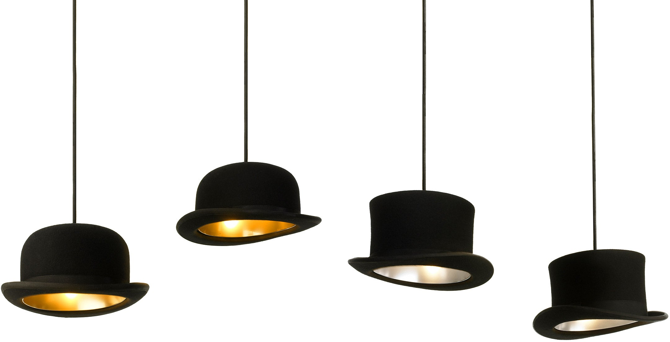 The Jeeves and Wooster range available from funkylampshades.com