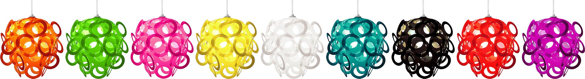 The Loop-Lu range available from funkylampshades.com