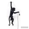 Monkey Hanging Lamp - Black