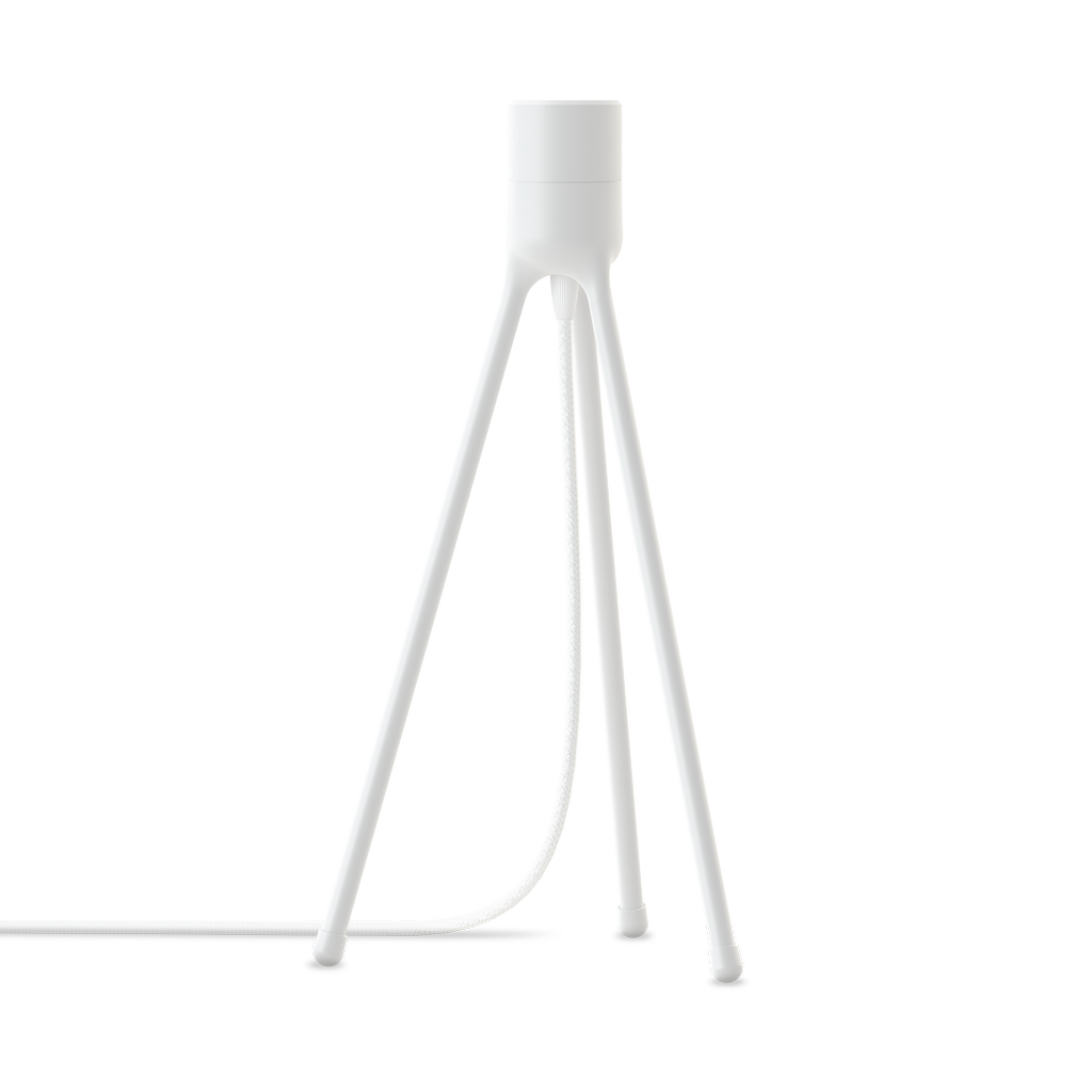 White table lamp stand by Umage