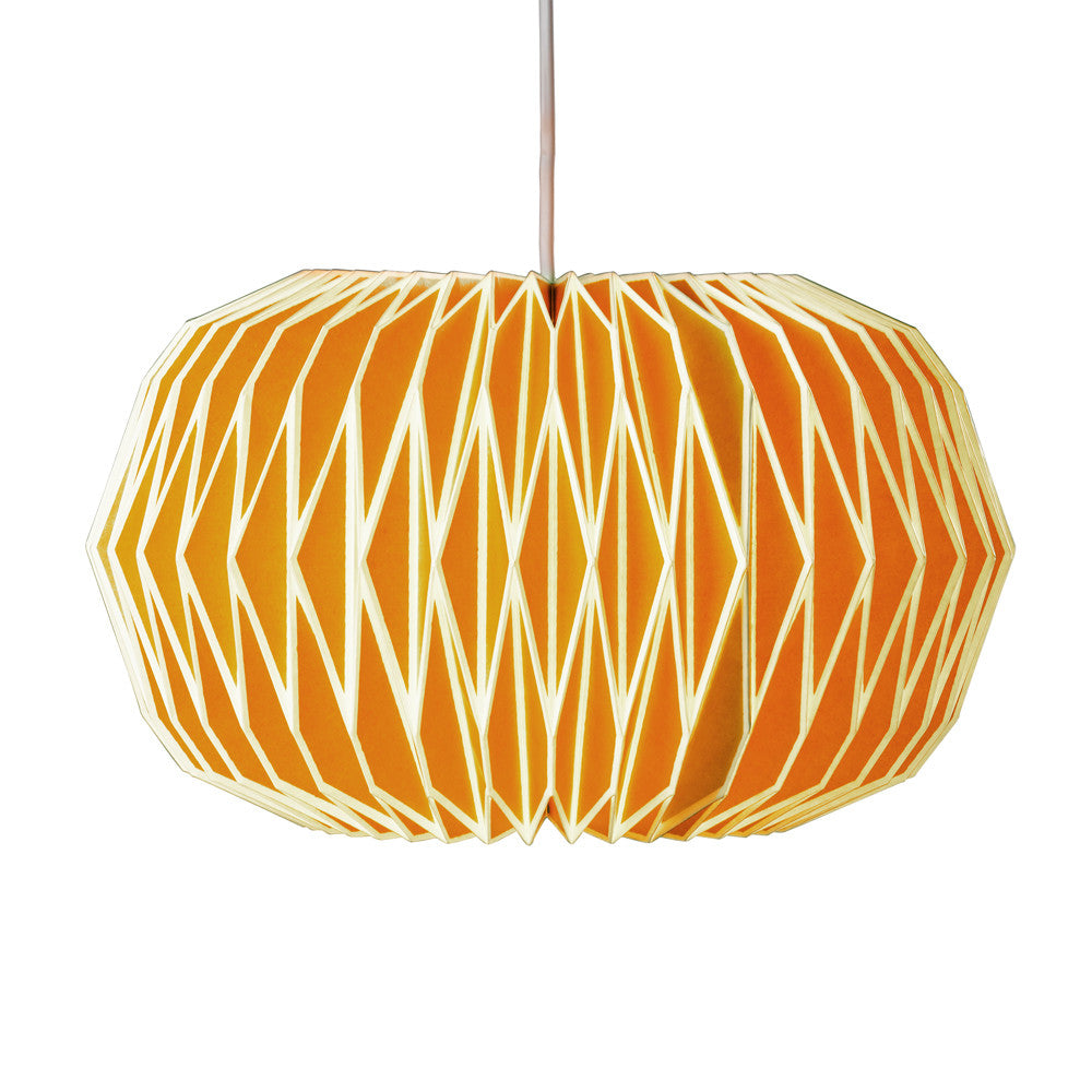 Alena English Mustard Lamp Shade