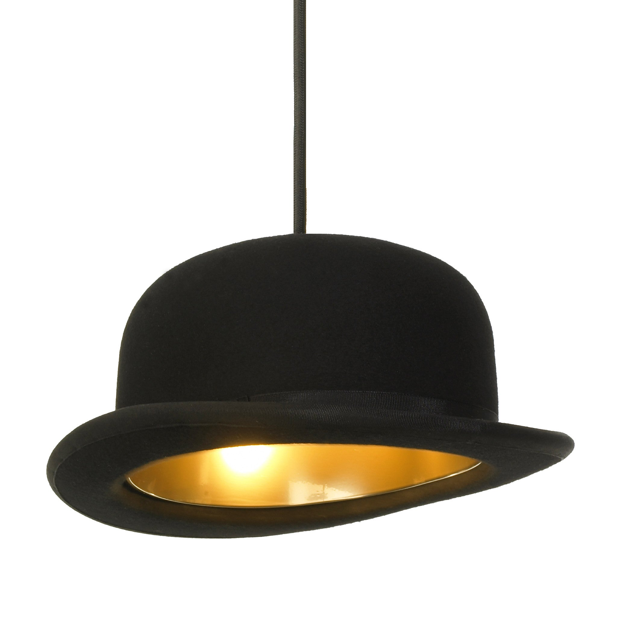 4d53530ccc4 Jeeves Bowler Hat Lamp Shade by Jake Phipps   Innermost – Funky Lamp Shades