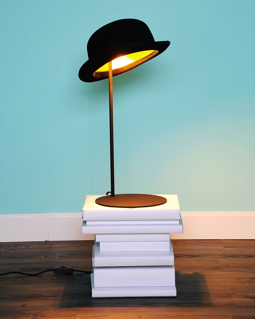 Jeeves bowler hat table lamp by jake phipps innermost funky lamp jeeves bowler hat table lamp aloadofball Choice Image