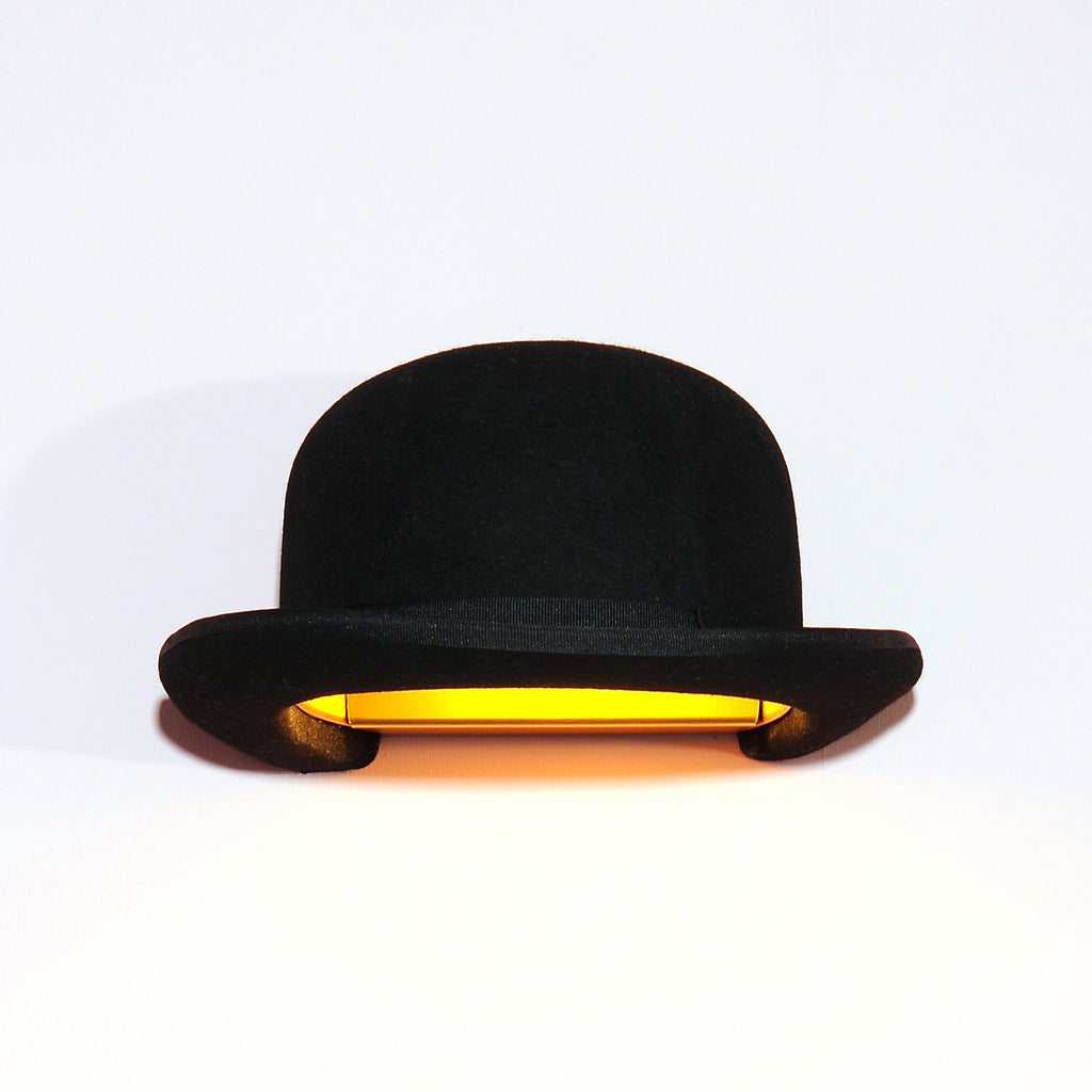 01061c9922a Jeeves Bowler Hat Wall Lamp Shade by Innermost – Funky Lamp Shades