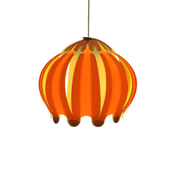 Allium Orange Lamp Shade