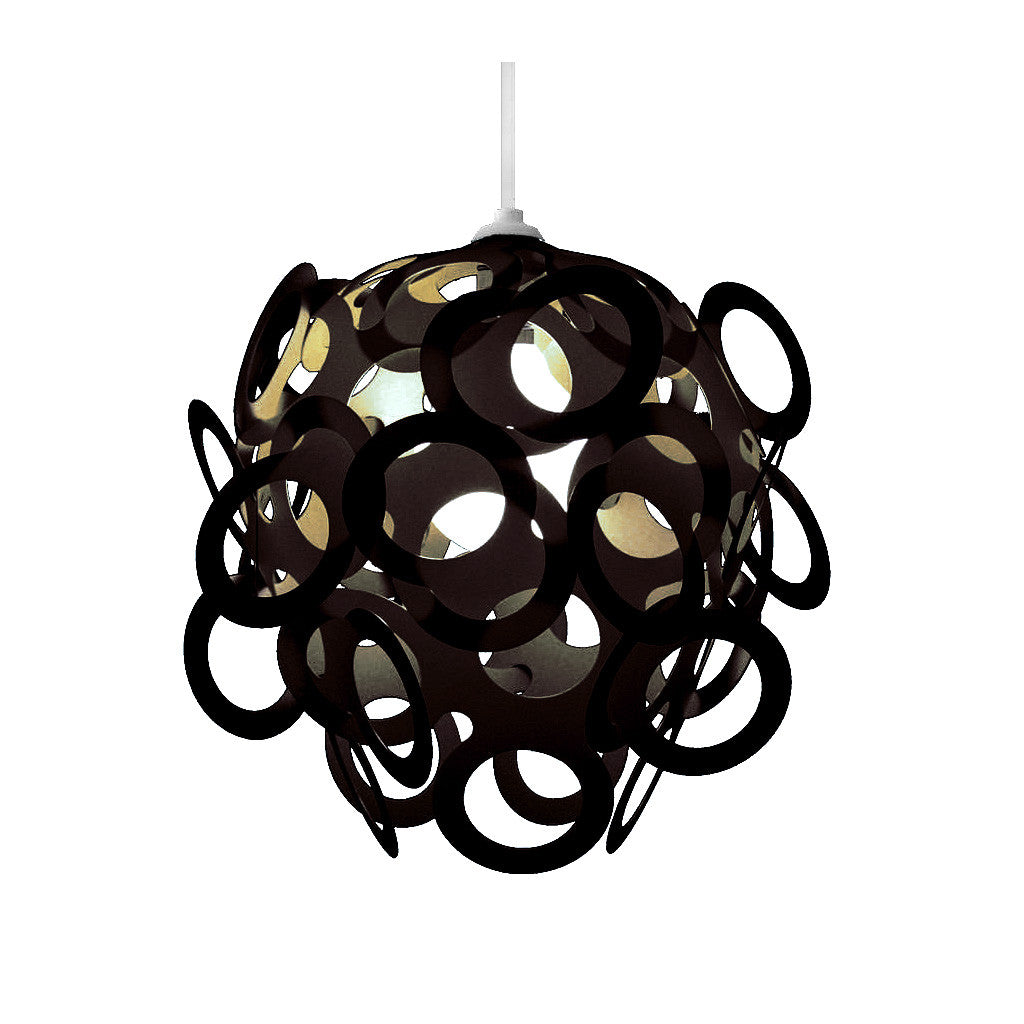 Loopy-Lu Black Lamp Shade