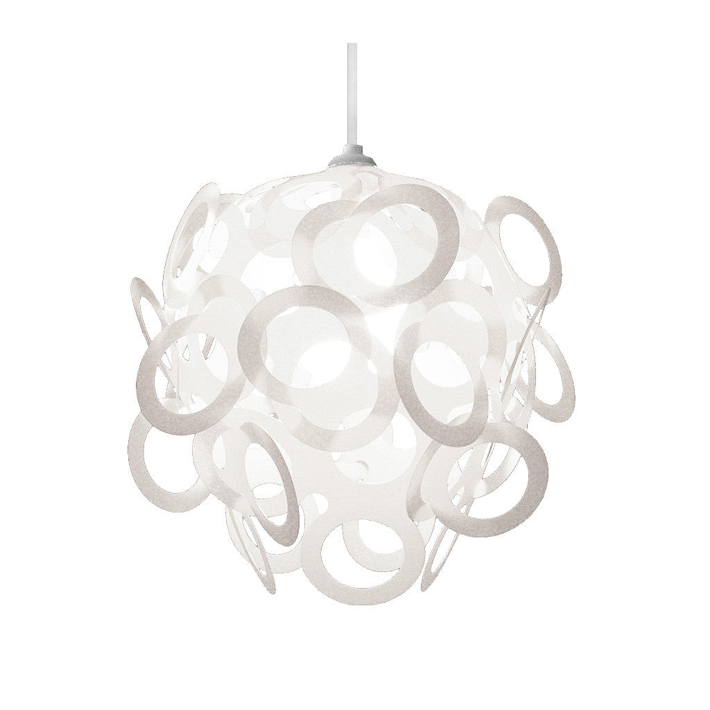 Loopy-Lu White Lamp Shade