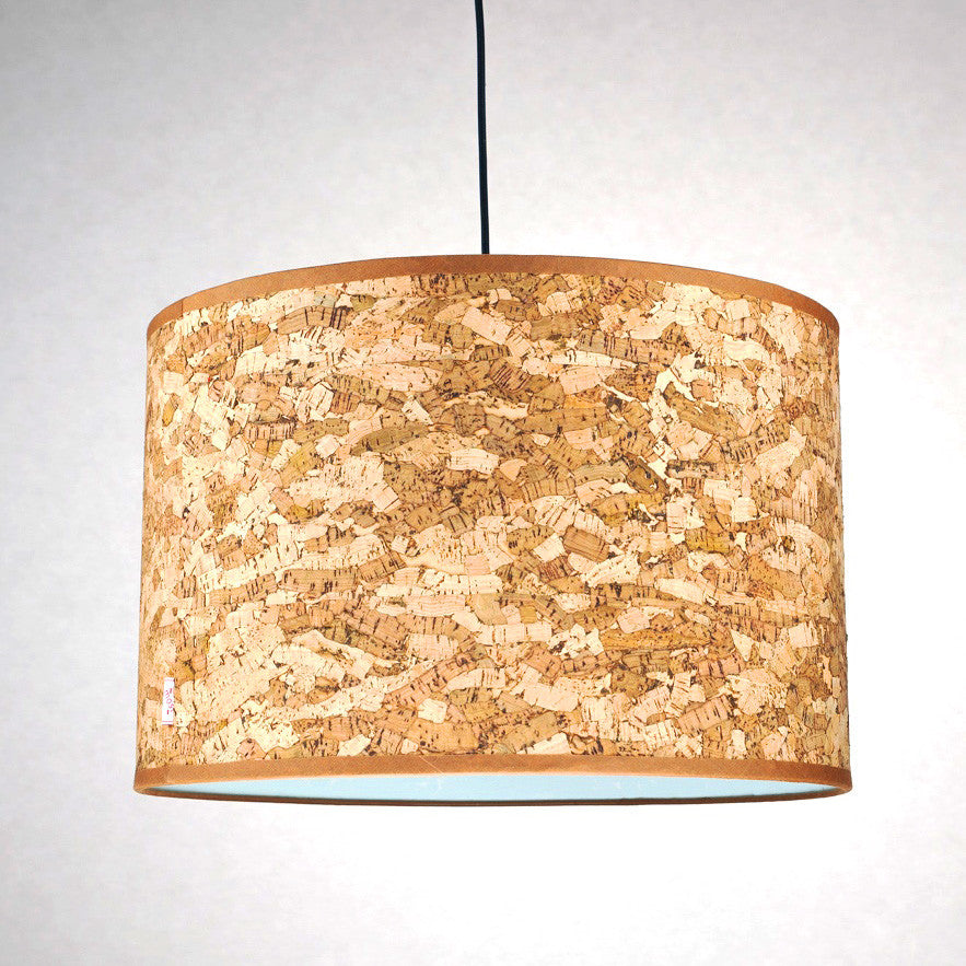 Cork Natural Lamp Shade (Medium)