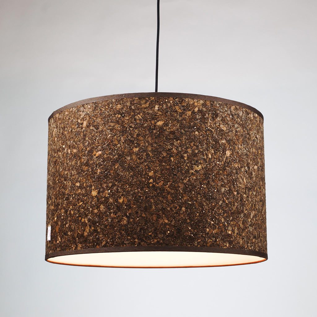 Cork lamp shades by innermost funky lamp shades cork smoke lamp shade medium aloadofball Images
