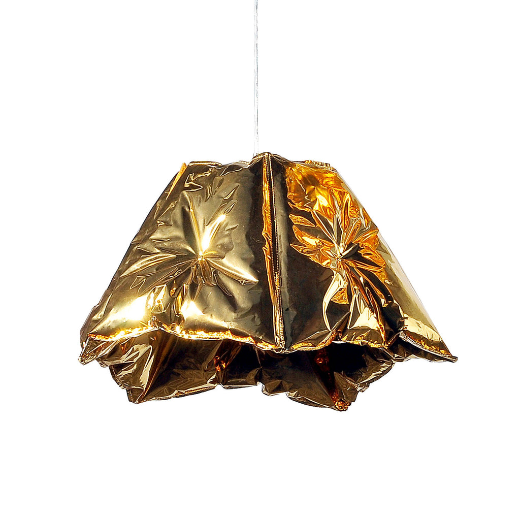 Dent Gold Lamp Shade 53 Small