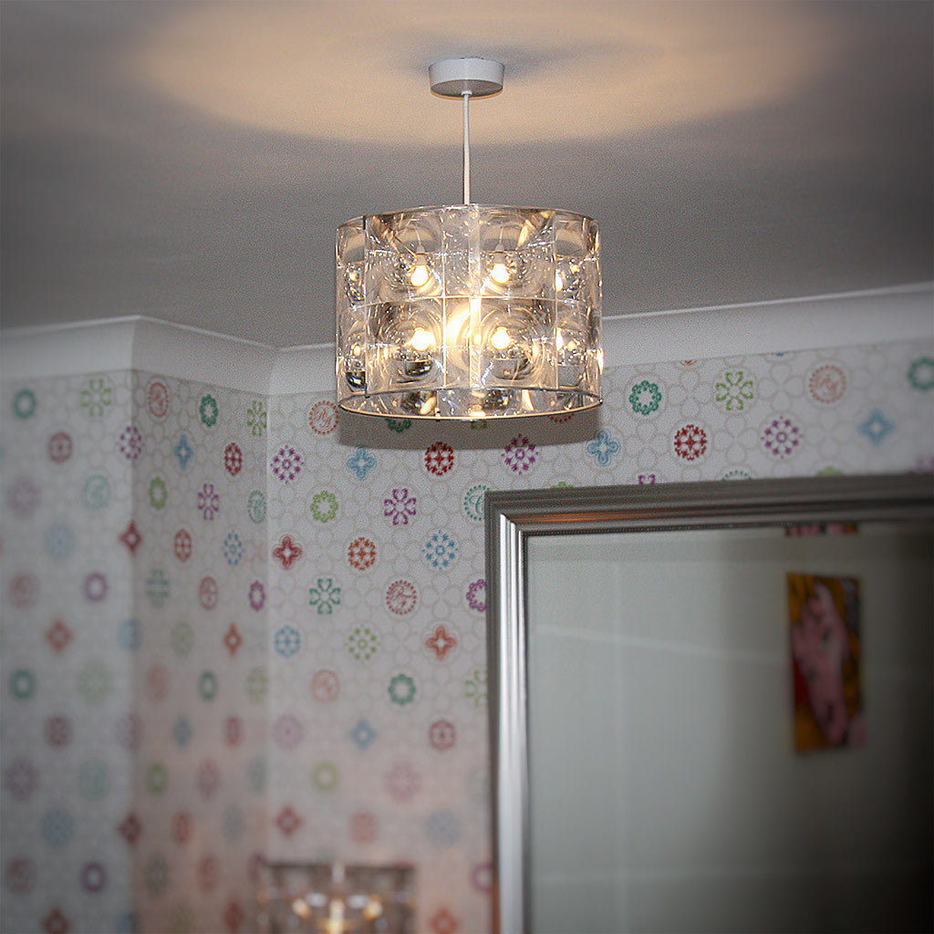 Lighthouse lamp shade small by innermost funky lamp shades lighthouse lamp shade small mozeypictures Choice Image