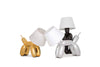 Chrome Doggy Table Lamp