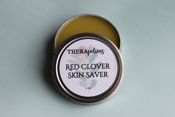 Red Clover and Walnut Skin Calming Salve