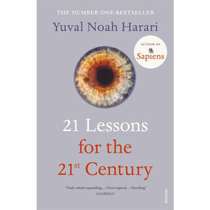 21 Lessons for the 21st Century - Yuval Noah Harari-Arnolfini Bookshop