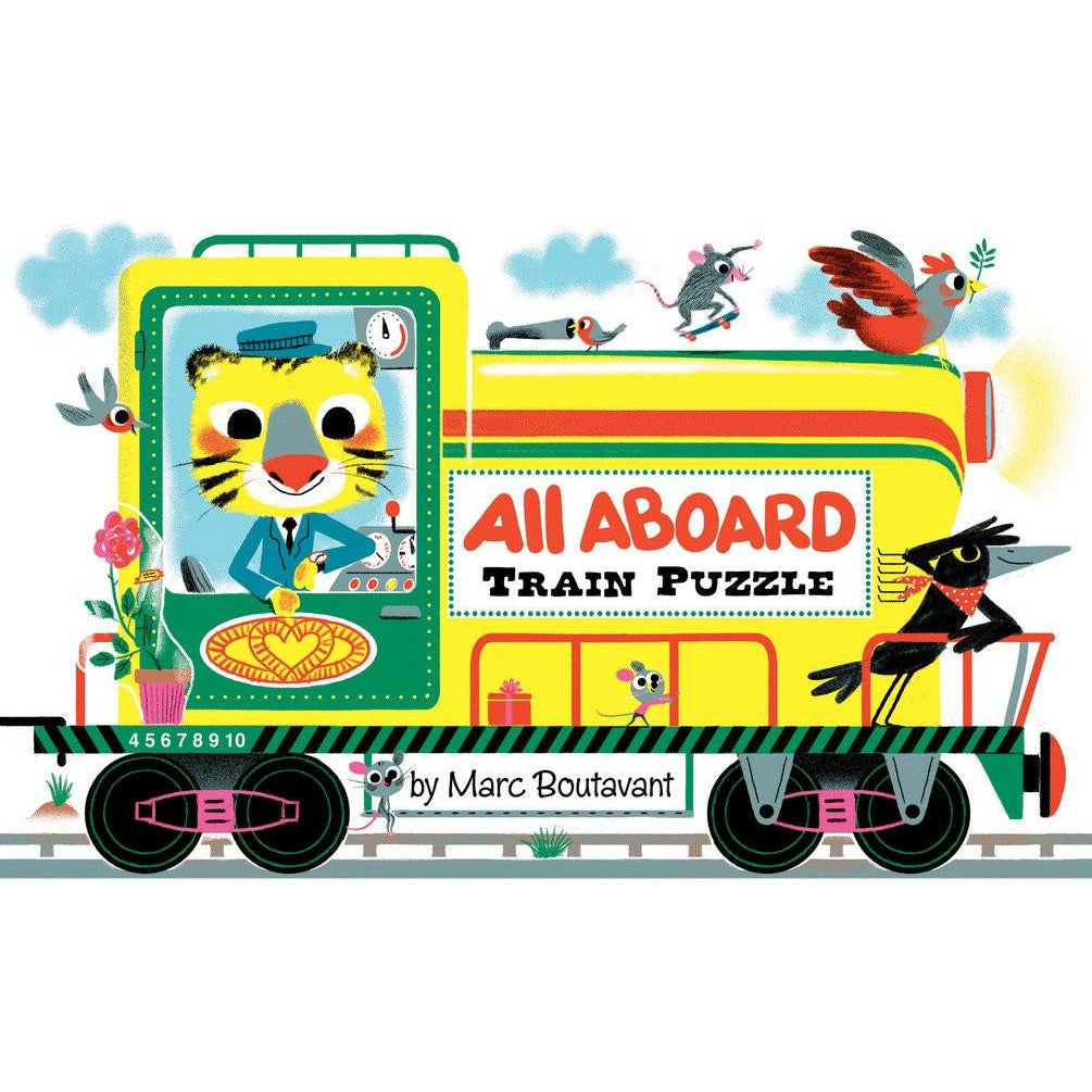 All Aboard Train Puzzle - Marc Boutavant - Arnolfini Bookshop