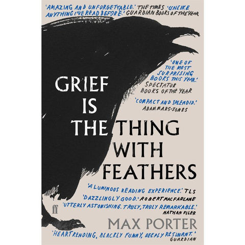 Grief is the Thing With Feathers - Max Porter - Arnolfini Bookshop