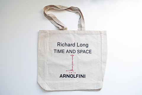 Signed Richard Long Tote Bag