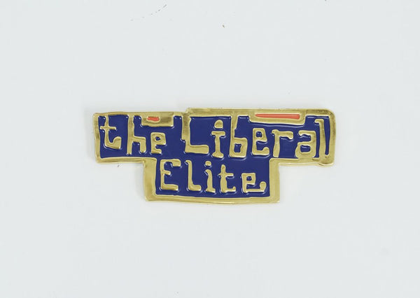 Grayson Perry - The Liberal Elite Enamel Badge